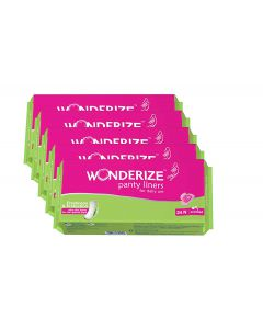 Wonderize Panty Liners Pack of 120 Combo