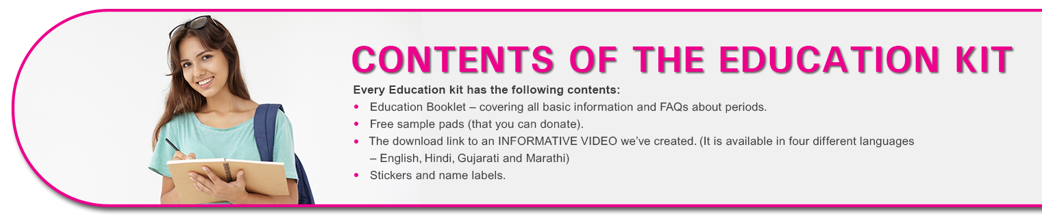 Contents of The Education Kit - Soul Sister Campaign by Wonderize