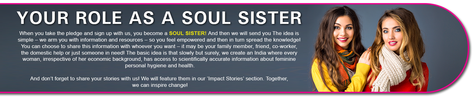 Your Role as a Soul Sister - Soul Sister Campaign by Wonderize
